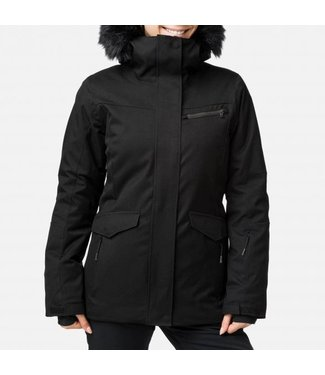 Rossignol Ski Jacket Parka Black Ladies