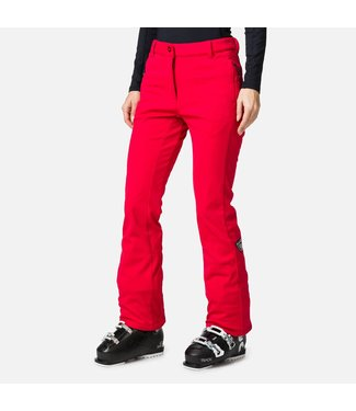 Rossignol Ski pants Carmin Red Softshell  - Women