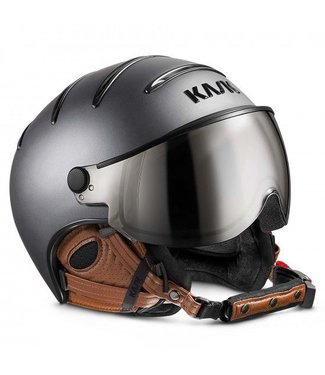 Kask Classe Matt Anthracite / Brown