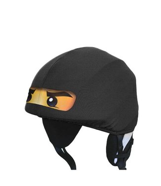 Funda de casco de esquí Ninja negra