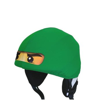 Funda de casco de esquí Ninja verde