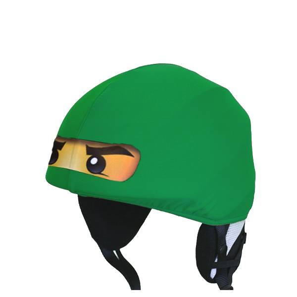 Ninja Skihelmabdeckung grün