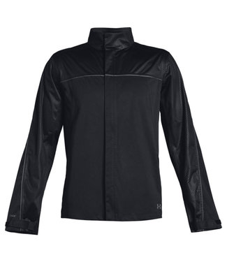 Under Armour Storm Rain Jacket Black / Rhino Gray