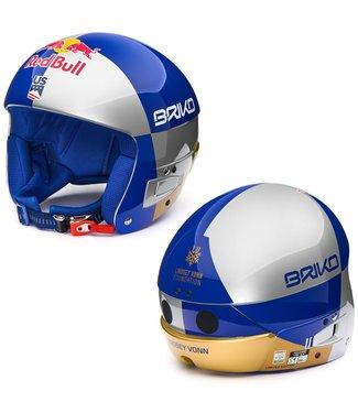 Briko Vulcano Fis 6.8 - Casque RB LVF argent bleu or