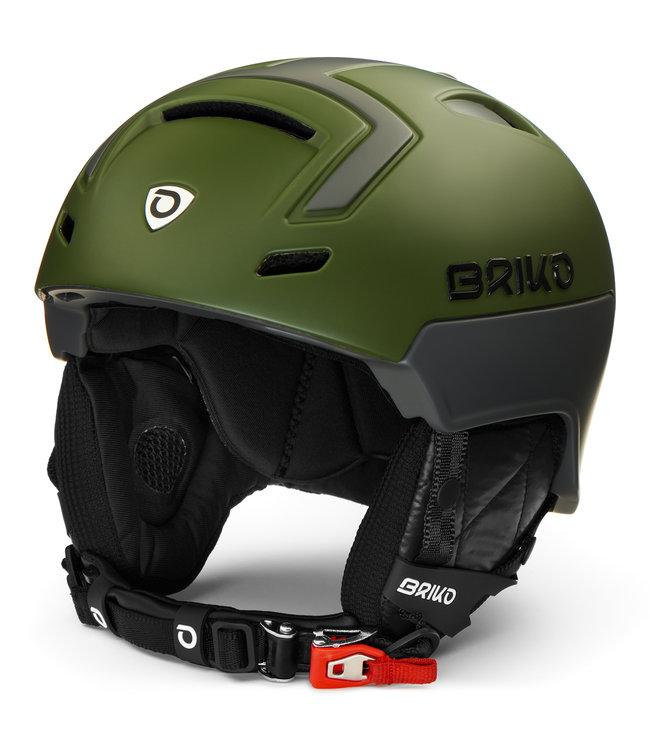 Briko Stromboli Helmet Matt Deep Green Gray