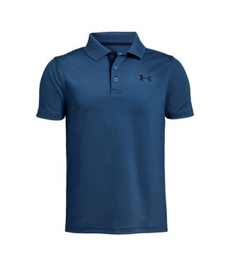 Under Armour Polo HG Performance Bleu Pétrole Enfant