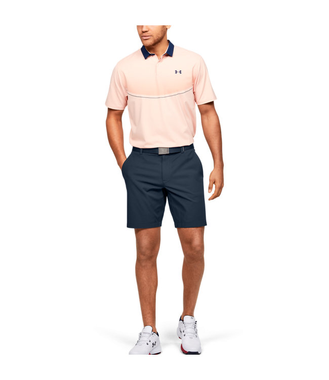 Under Armour Iso-Chill Herenshorts Navy Blauw