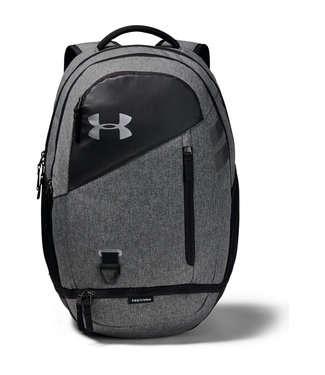 Under Armour Hustle 4.0 Graphite Medium Heather Backpack