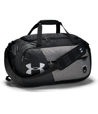 Under Armour Undeniable Duffel 4.0 MD Negro / Grafito Mediano Brezo