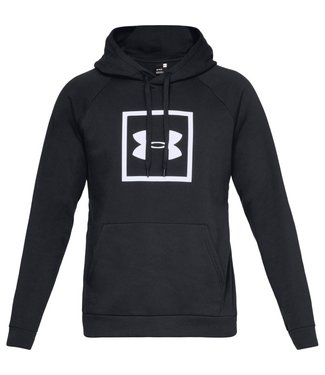 Under Armour Rival Fleece Logo Hoodie Black