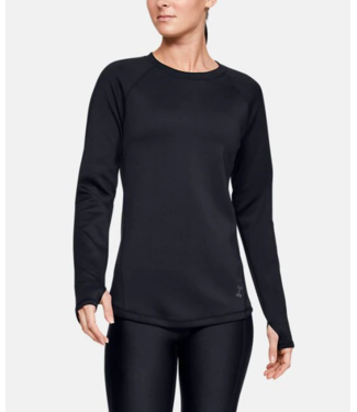 Under Armour Women's ColdGear® Doubleknit Long Sleeve Black