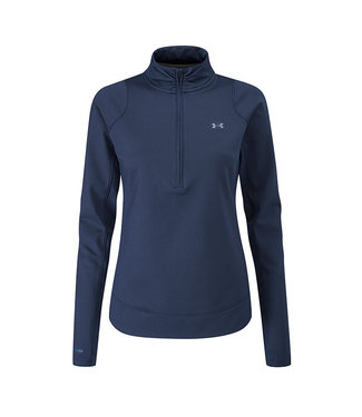 Under Armour Midlayer with 1/2 zipper W - Academy blue