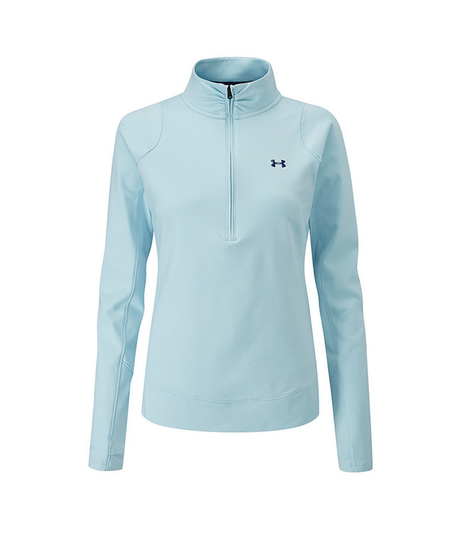 Under Armour Midlayer with 1/2 zipper W - Blue Frost