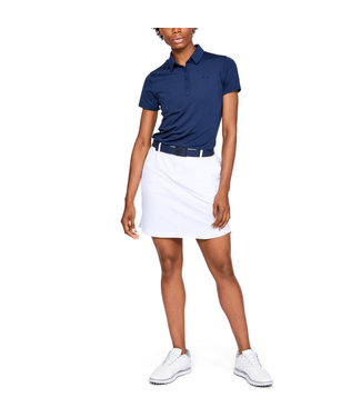 Under Armour Left Woven Ladies Short Blanco
