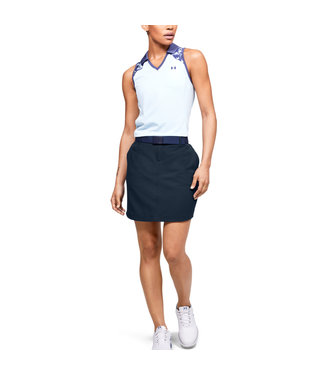 Under Armour Left Woven Ladies Short Academy Blue