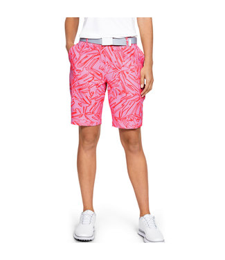 Under Armour Links Printed Short Lipstick Roze