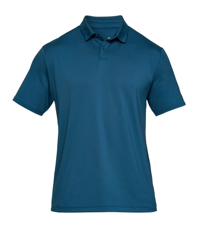 Under Armour Crest. Perf. Polo 2.0 - Petrol Blue