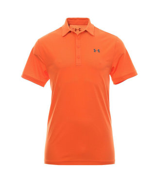 Under Armour Playoff Vented Polo - Papaya Orange