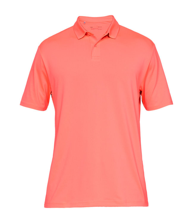 Under Armour Kamm. Perf. Polo 2.0 - Blitzrot