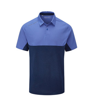 Under Armour Tour Tips Blocked Polo-Tempest / Academy / Pitch Gray