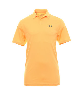 Under Armour Playoff Vented Polo - Mango Orange