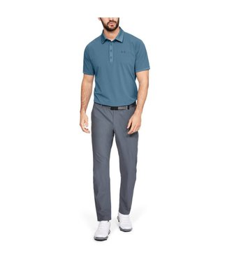 Under Armour Playoff Vented Polo - Thunder Blue