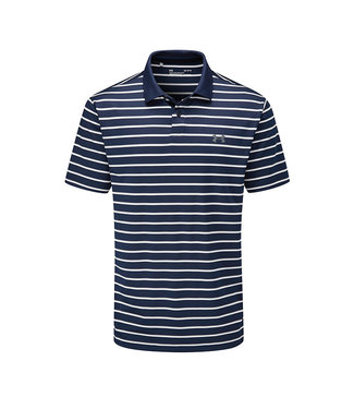 Under Armour Performance Polo 2.0 Divot Stripe-Academy /  / Pitch Gray