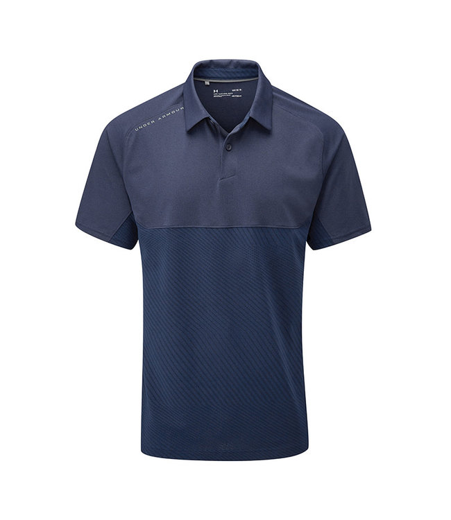 Under Armour Tour Tips Blocked Polo-Academy / Academy / Pitch Gray