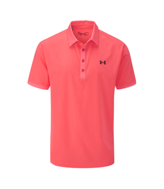 Under Armour Playoff Vented Polo - Blitzrot