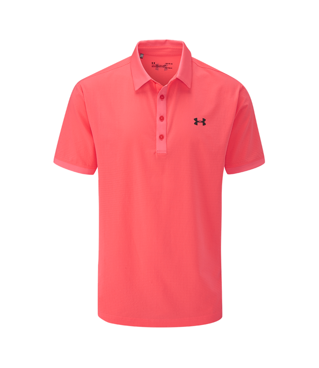 Under Armour Playoff Vented Polo - Blitz Red