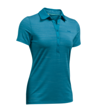 Under Armour UA HG ZINGER SS POLO BAYOU BLUE        WOMEN