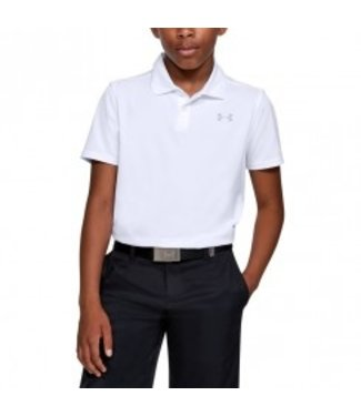 Under Armour Performance Polo 2.0 White - Boys