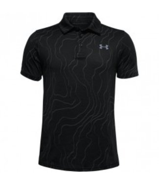 Under Armour UA Playoff Polo-Zwart / Gitgrijs / Staal