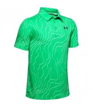 Under Armour A Playoff Polo-Vapor Green / Aqua Foam / Black