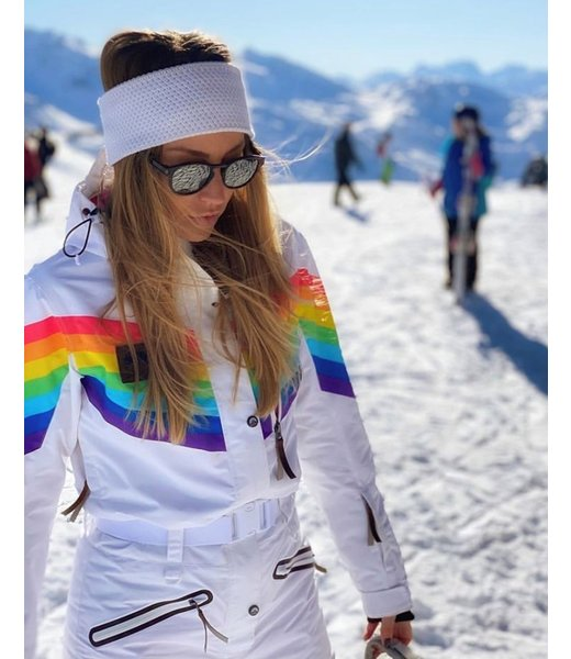 Rainbow Road Ski Suit - Womens