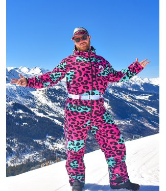 OOSC Cheeky Leopard Ski Suit – Men's / Unisex