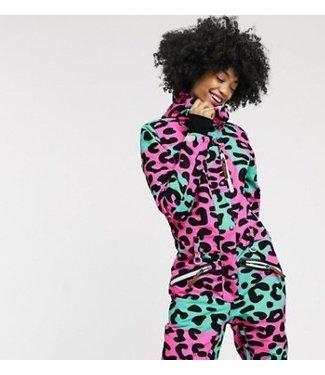 OOSC Frecher Leoparden-Skianzug - Damen