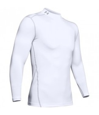 Under Armour UA CG ARMOR MOCK WHITE / STEEL