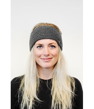 Poederbaas DARK GRAY HEADBAND