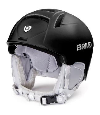 Briko Perla Matt Black Ski Helmet