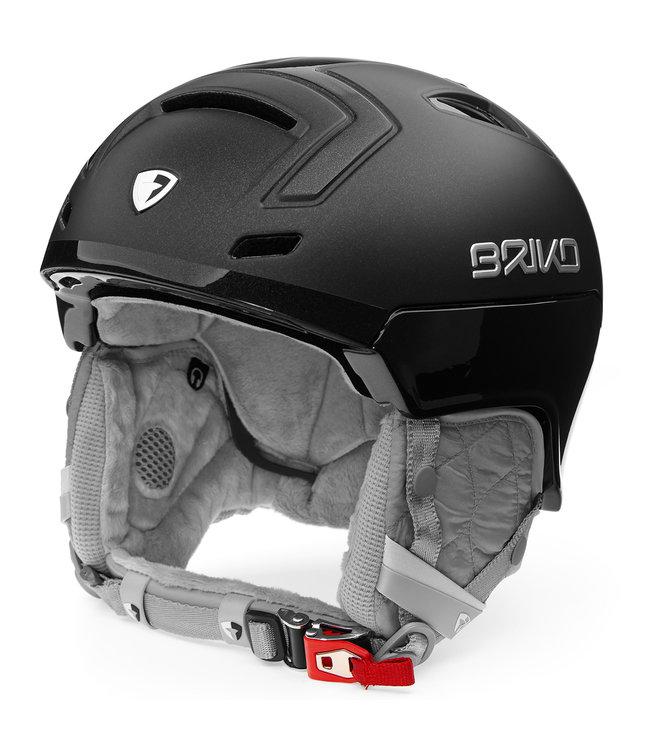 Briko Ambra Pearl Black Ski Helmet