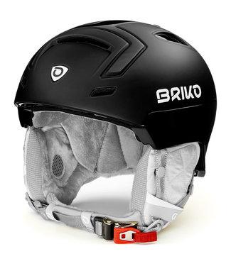 Briko Ambra Matt Shiny Black Ski Helmet
