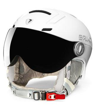 Briko Ambra Pearl White Ski Helmet