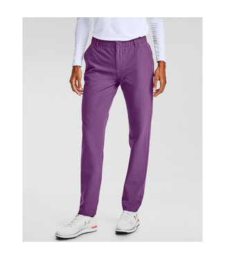 Under Armour UA Links Pant-Baltic Plum / Mod Gray Light Heather / Baltic Plum