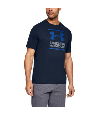 Under Armour UA GL Foundation SS T - Academy/Steel/Royal