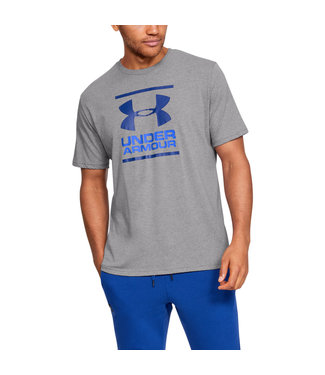 Under Armour UA GL Foundation SS T - Steel/Versa Blue/Am.blue
