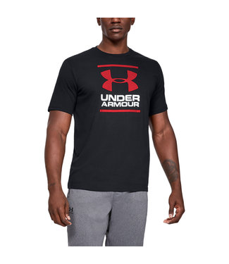 Under Armour UA GL Foundation SS T - Black / White / Red