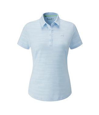 Under Armour Zinger Short Sleeve Novelty Polo - Coded Blue