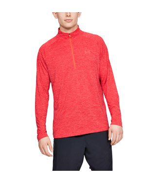 Under Armour UA Tech 2.0 1/2 Zip - Beta Red