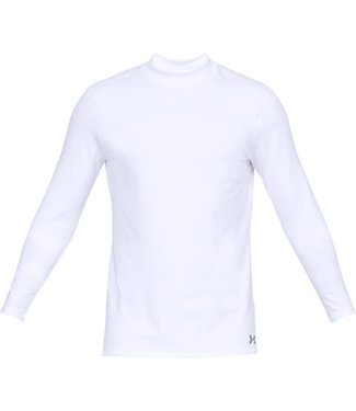 Under Armour UA CG ARMOR MOCK FITTED WEISS